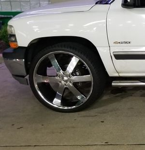 """26""""s 6 lug rims and tires for Sale in Evansville, IN"""