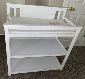 White changing table for Sale in Portland, OR