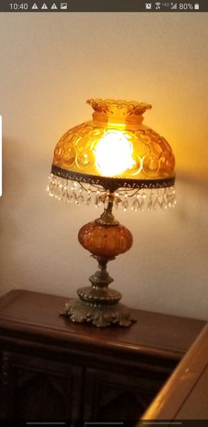 Antique Glass Beautiful Matching Lamps for Sale in Anaheim, CA