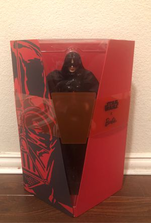 (BRAND NEW) STAR WARS X BARBIE Darth Vader 11.5 Barbie Doll for Sale in Plano, TX
