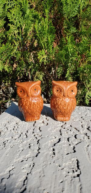 New Owl Ceramic Salt and Pepper Shakers for Sale in Goodyear, AZ