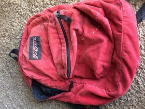 Corduroy jansport backpack for Sale in Hillsboro, OR
