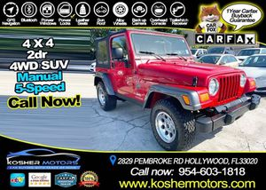 2004 Jeep Wrangler for Sale in Hollywood, FL