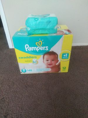 Pampers & wipes for Sale in Cleveland, OH