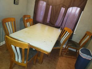 Solid wood kitchen table for Sale in Stockton, CA