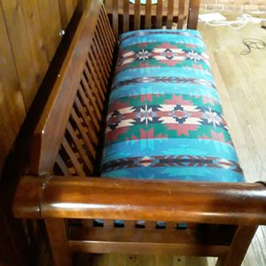 Solid wood couch selling fast for Sale in Nashville, TN