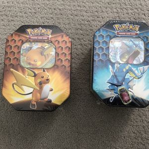 Hidden Fates Pokemon Gyarados and Raichu for Sale in Herndon, VA