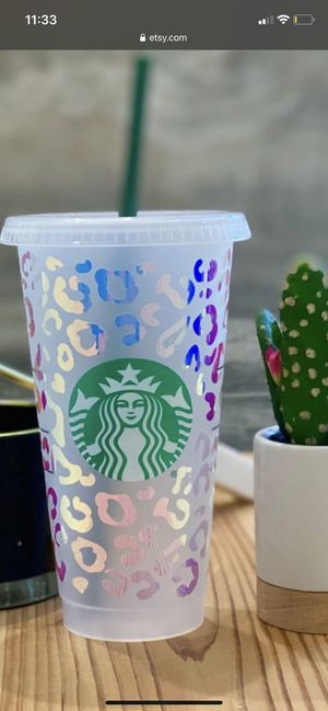 Starbucks cold cups for Sale in Ceres, CA