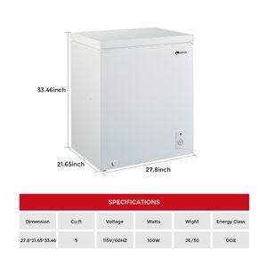 KEG 5 Cu. Ft. Chest Freezer for Sale in La Puente, CA