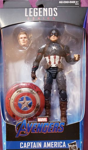MARVEL LEGENDS POWER AND GLORY WORTHY CAPTAIN AMERICA WALMART EXCLUSIVE for Sale in Los Angeles, CA