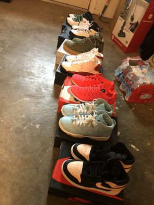 Jordan's & Nike's For Sale (Check the list) for Sale in Antioch, CA