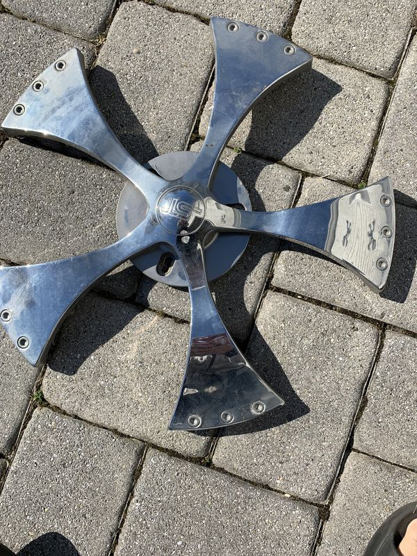 Universal Chrome Rims Wheel Spinners