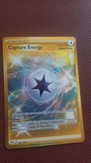 Gold Capture Energy pokemon card for Sale in Mesa, AZ