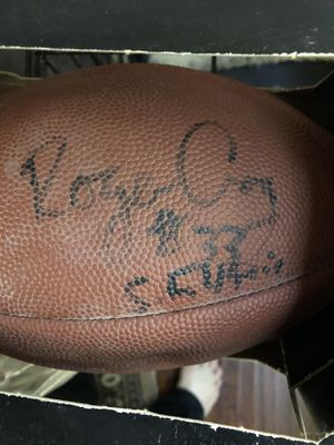 Football autographed by Roger Craig, 49er for Sale in Modesto, CA
