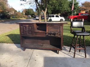 Bar with stools for Sale in San Antonio, TX