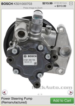 Power Steering Pump for Mercedes GLK350 - Bosch for Sale in Cleveland, OH