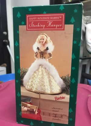 Barbie holiday Stocking hanger. Never used. for Sale in Franklin, TN