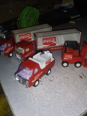 1970s vintage coca cola toy trucks for Sale in Lafayette, OR