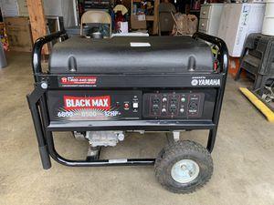 Black Max Yamaha 8500 12hp Generator for Sale in Renton, WA