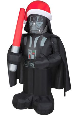 """Star Wars Darth Vader 42"""" Christmas Airblown Inflatable Yard Decoration - EUC! for Sale in Hamilton Township, NJ"""