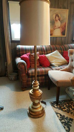 Vintage metal Decorative floor lamp for Sale in Harrisonburg, VA