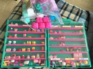 Shopkins with storage containers for Sale in Centreville, VA