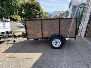 5x8 utility trailer for Sale in Tualatin, OR