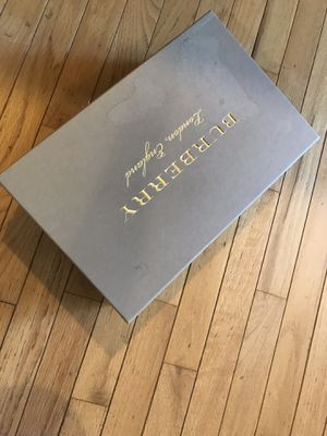 BURBERRY Shoes Black And Blue Logo On Top for Sale in Sterling, VA