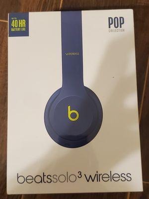 BRAND NEW Beats Solo 3 Wireless Earphones - Indigo for Sale in Sugar Land, TX