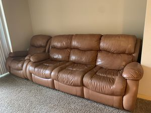 Sofa and chair leather for Sale in Auburn, WA