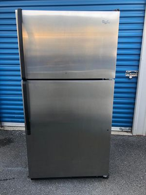 Refrigerator whirlpool for Sale in Frederick, MD