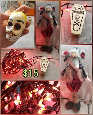 HALLOWEEN DECORATIONS todo por $15 usadas y nuevas Tengo Mas Cosas Pick Up Only :) for Sale in San Jose, CA