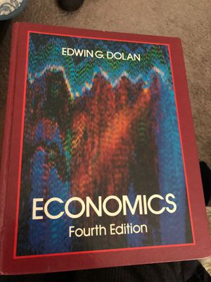 Economics by Edwin Dolan 4th Edition for Sale in Tampa, FL