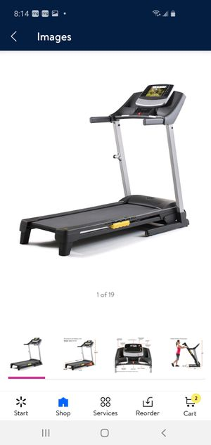Proform 430 Folding Smart Treadmill with adjustable cushioning ifit personal trainer for Sale in Houston, TX