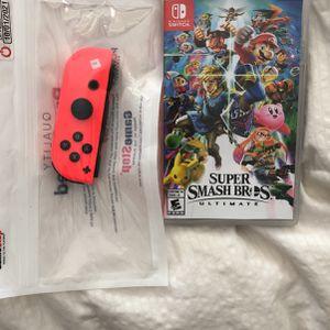 Super Smash Bros & Controller for Sale in Santa Maria, CA