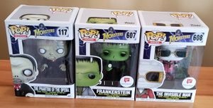 Lot of 3 Monsters Funko Pops! for Sale in Arlington, WA