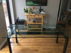 Beautiful glass table. for Sale in Washington, DC