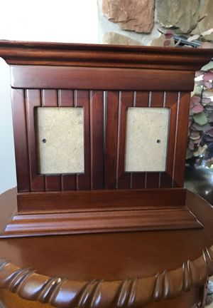 Picture frame holds two wallet size pictures for Sale in Tonawanda, NY