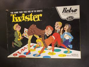 1966 retro twister board game for Sale in New Square, NY