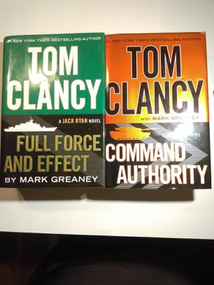 2 Tom Clancy books for Sale in Washington, NC