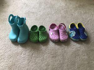 Girls Crocs - price $ 5/10 each for Sale in Leander, TX