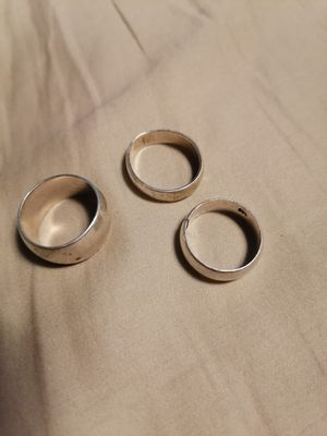 3 Silver Rings (925) for Sale in Portland, OR