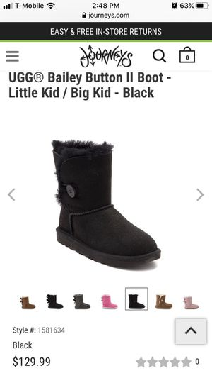 Kids shoes uggs girls boots for Sale in Whittier, CA