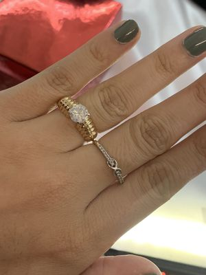 14K Yellow Gold 1Ct Engagement Ring for Sale in Austin, TX