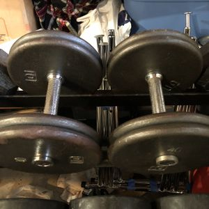 40 Pound Dumbbells for Sale in Bellevue, WA