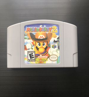 Mario Party 2 (Nintendo 64, 2000) N64 - Tested, Working, Great Gift! (Read) for Sale in Pembroke Pines, FL