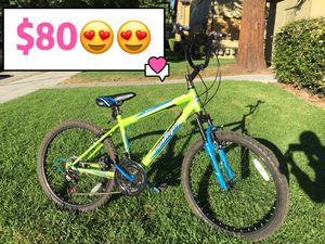 "24"" Mountain Bike w/ Converted Handlebar for Sale in Cupertino, CA"
