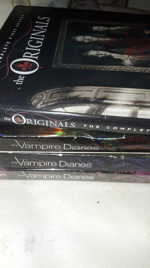 The Vampire Diaries season 1,2,5 and The Originals Season 1 DVD for Sale in Anaheim, CA