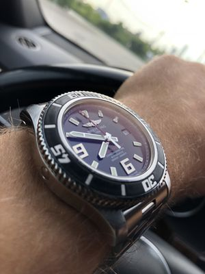 Breitling SuperOcean 44mm automatic watch omega oris tag Rolex for Sale in Norridge, IL