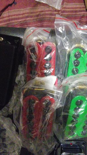 6 STRING GUITAR PICKUPS!!! A PORTION OF THE SELECTION for Sale in Turlock, CA